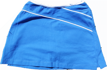 Skort X-Cut royal-white trim