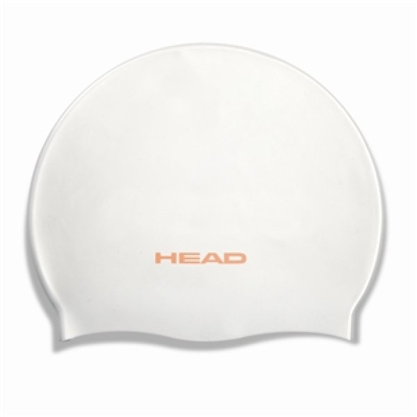 HEAD Badekappe Silicone Moulded - weiss